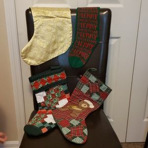 Other - Lot of Christmas Stockings (4)
